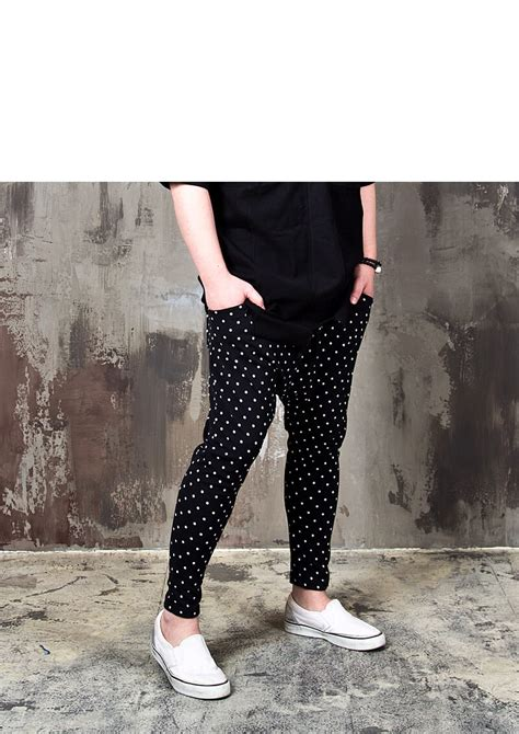 cute patterned bottoms bottoms dot patterned cute baggy sweatpants 251 for