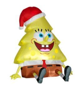 spongebob christmas tree quotes spongebob ornament and decoration cool stuff to buy and collect