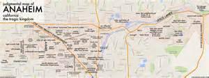 map of anaheim california anaheim ca by ben c copr 2015 ben c all rights