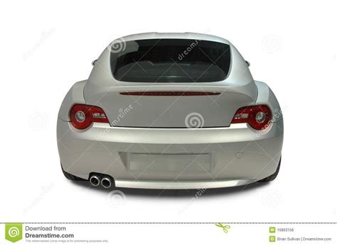 car rear view sports car rear view stock photo image of hatchback