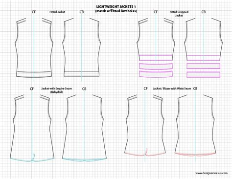 clothing templates for adobe illustrator adobe illustrator flat fashion sketch templates my