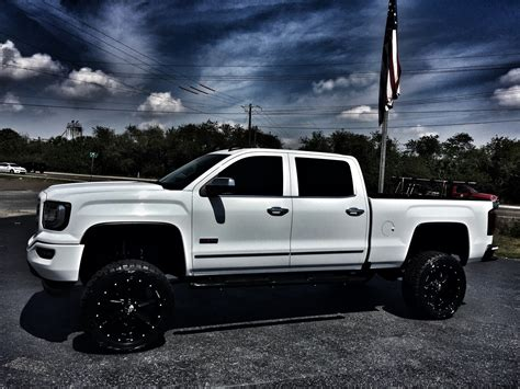 lifted gmc 1500 2016 gmc 1500 custom lifted all terrain crewcab 4x4