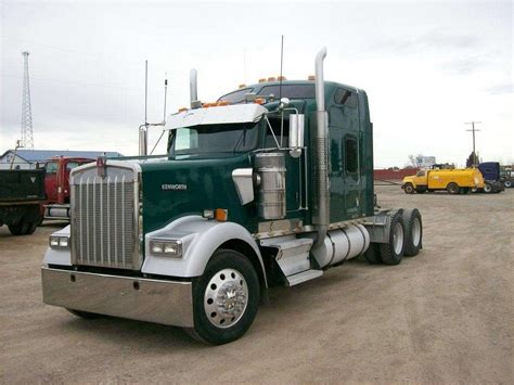 2006 kenworth truck 2006 kenworth w900l sleeper semi truck for sale 1 031 109