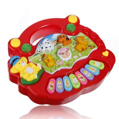 baby kids child animal farm keyboard electrical piano