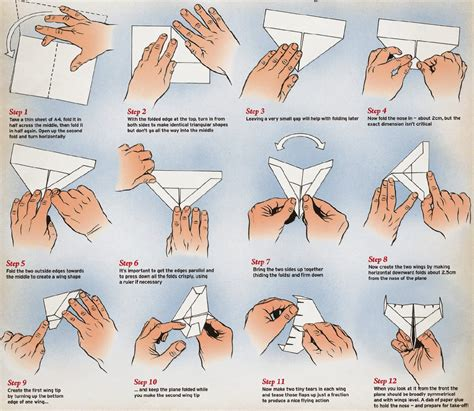 Origami B - how to make origami airplanes step by step origami