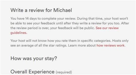 airbnb host review template asking a guest to review their host airbnb community