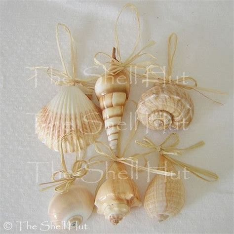 seashell christmas tree ornaments christmas by the sea