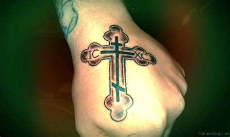 russian orthodox cross tattoo 30 superb cross tattoos on