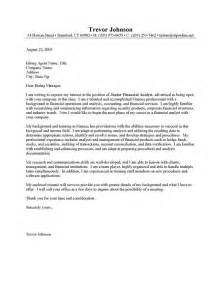 Finance Cover Letters by Financial Analyst Junior Cover Letter Resume Cover Letter