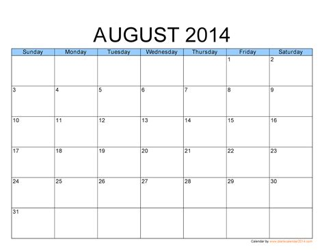 printable calendar august 2013 2014 blank calendar download html autos weblog