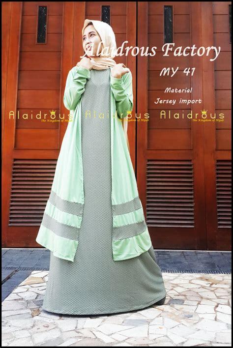 tren busana muslim terkini seri coat alaidrous solusi fashion bagi hijabers karir