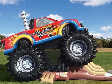 monster truck show long island noah s ark inflatable bouncer clowns4kids