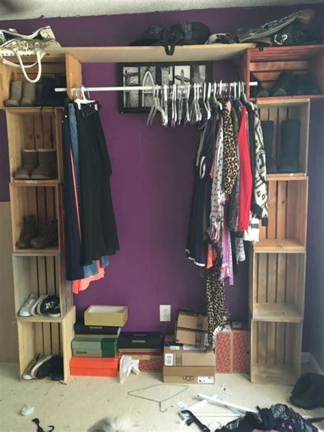 Diy Clothes Closet by Best 25 Closet Rod Ideas On Closet Remodel Small Closet Organization And Master Closet
