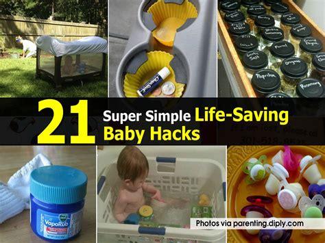 21 simple saving baby hacks