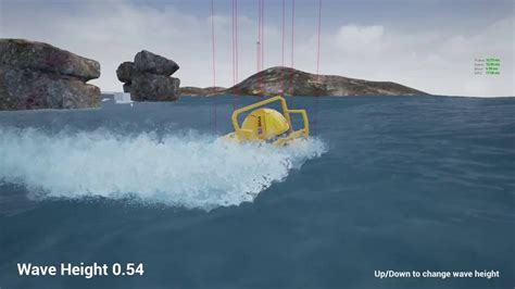 speedboat gif physics ocean and boat driving unreal engine 4 youtube