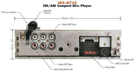 sony cd player wiring diagram get free image about