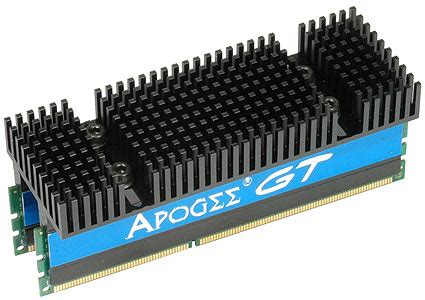 Ram Ddr3 Apogee chaintech apogee au1g733 18gp001 high end ddr3 memory on the hook