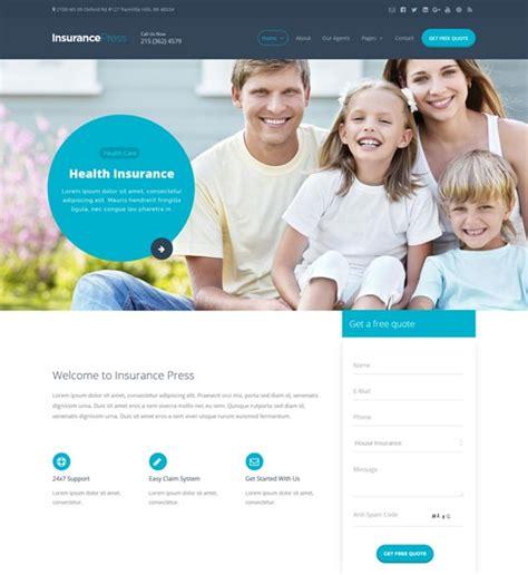 14 insurance website templates themes free premium templates