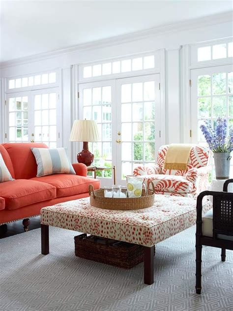 Coral Color Living Room by 5 Ways To Avoid Winter Blues Four Generations One Roof