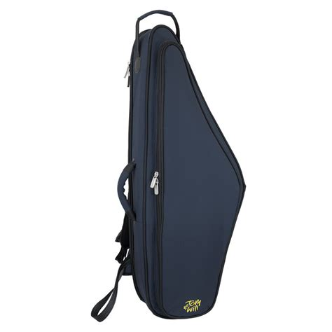 Dr Tenor Saxophone Gigbag tom and will tenor saxophone gig bag blue with black trim at gear4music