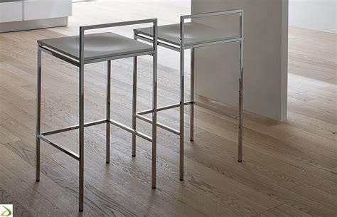 sgabelli per cucina moderna sgabello da cucina moderno paces arredo design