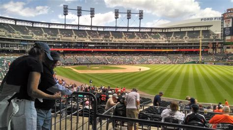 Section 112 Comerica Park by Detroit Tigers Comerica Park Section 112 Rateyourseats