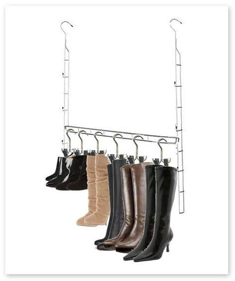 Closet Doubler Rod by Closet Doubler Boot Hanger Storage System Closet Rod Storage And Closet Space
