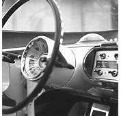 1955 Lincoln Futura Steering Wheel And Instrument Panel