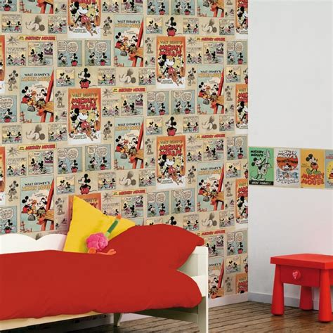 disney wallpaper graham and brown graham brown disney mickey mouse auto adhesivo 5m cenefa