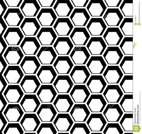 vector pattern for illustrator seamless hexagon vector stock vector illustration of
