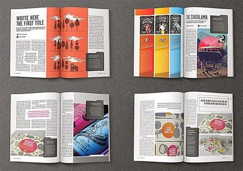magazine layout templates free spreading the maglove free indesign magazine templates