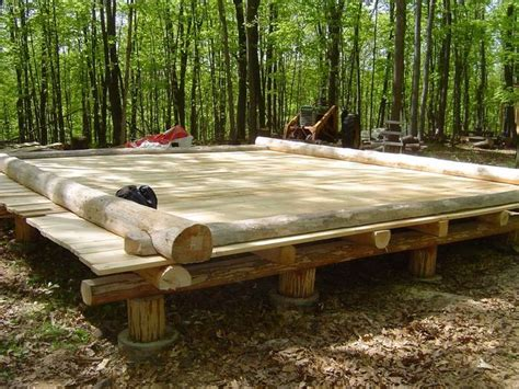Foundation For Log Cabin by Cabin Foundations New Member And Questions