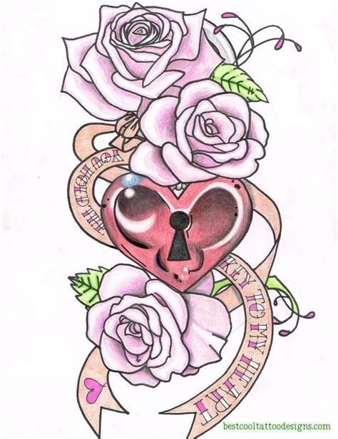 girly tattoos designs hearts best cool designs