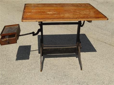 Hamilton Drafting Table Parts Antique Hamilton Industrial Drafting Table Steunk