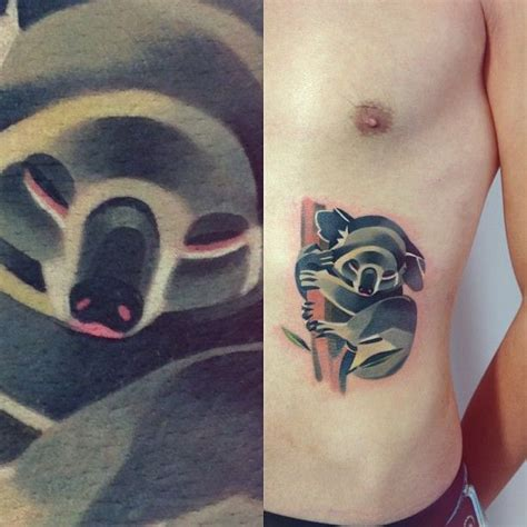 watercolor tattoo queensland 25 best ideas about koala on ankle
