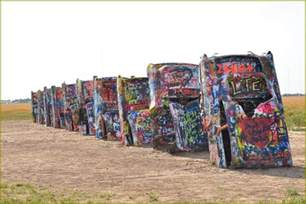 Cadillac Ranch Locations Cadillac Ranch Location Petrified Forest National Park
