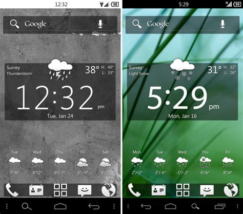 Themes For Android Project | custom theme friday frost and lucid for the galaxy nexus