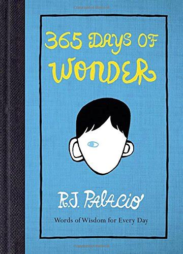 365 days of wonder by r j palacio