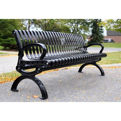 metal park bench restoring an outdoor bench with colored stain outdoor bench