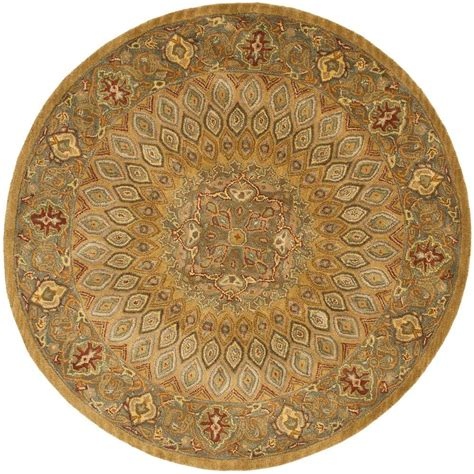 10 ft rug safavieh heritage light brown grey 10 ft x 10 ft