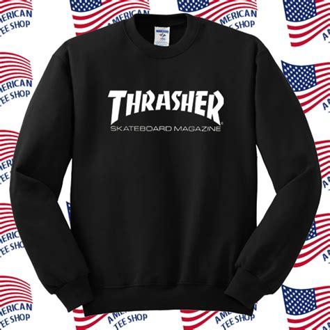Hoodie Sweater Thrasher Skateboard Magazine thrasher skateboard magazine sweatshirt
