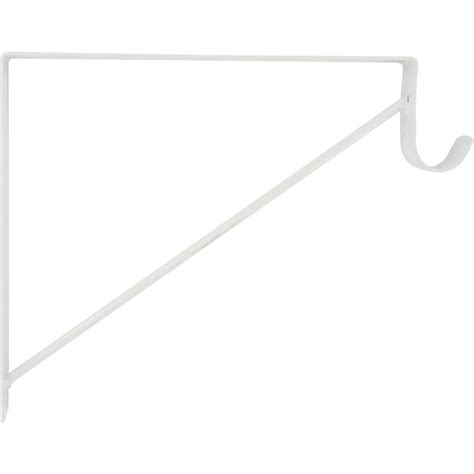Shop The Hillman Group 20 Pack Fixed Shelf Brackets At Shelving Brackets Lowes