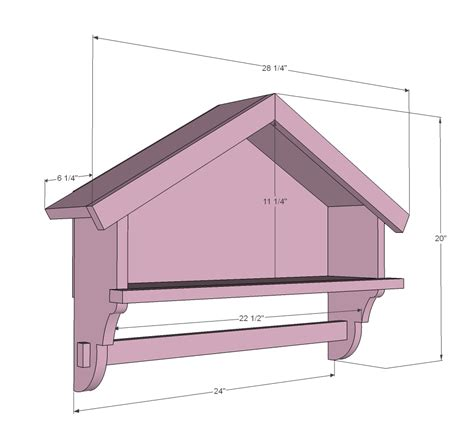 bird house bath shelf woodworking plans woodshop plans