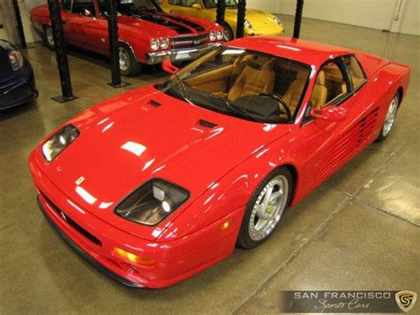 512m for sale purchase used 1995 512m testarossa 57 75 5k