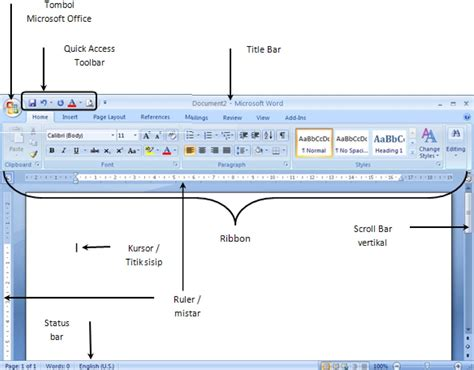 Fungsi Layout Pada Ms Word | fungsi tab menu page layout microsoft excel 2007