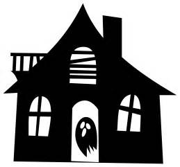 House Silhouette clipart haunted house silhouette