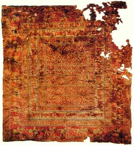 Rugs In History The Pazyryk Carpet Dover Rugdover Rug Rugs History