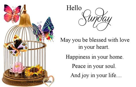 Hello Sunday May You Be Blessed Pictures, Photos, and ... Have A Blessed Weekend Quotes