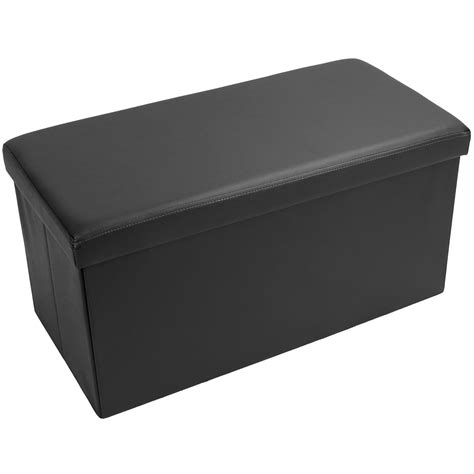 foot storage ottoman large ottoman folding storage box blanket toy foot rest