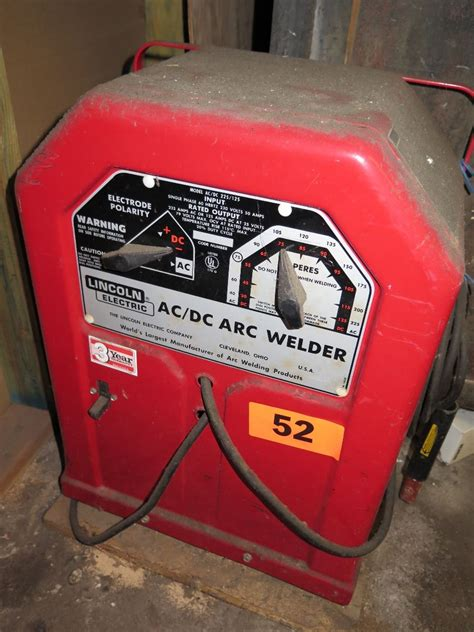 lincoln arc welder lincoln electric arc welder ac dc 225 125